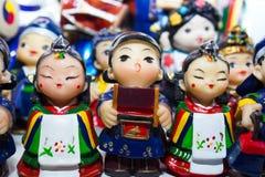 Poupée coréenne Images libres de droits
