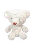 Poupée d'ours blanc Image libre de droits