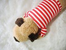 Poupée de chienchien de Brown Image stock