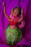 Poupée de danse polynésienne Images stock