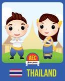 Poupée de l'AEC de la Thaïlande Images libres de droits