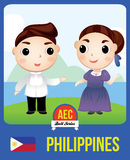 Poupée de l'AEC de Philippines Images stock