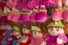 Poupée de laine Image stock