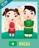 Poupée de Macao Images stock