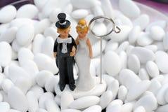 Poupée de mariage Image libre de droits