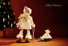 Poupée de Noël Photographie stock