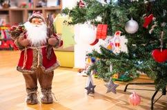 Poupée de Santa Claus photo stock
