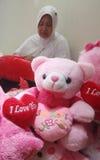 Poupée de Valentine Photos libres de droits