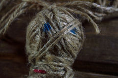 Poupée de vaudou Photographie stock libre de droits