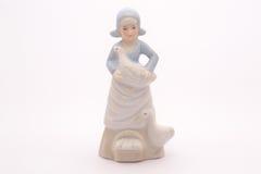 Poupée en céramique fine chinoise Photos stock