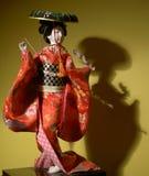 Poupée japonaise Photographie stock libre de droits