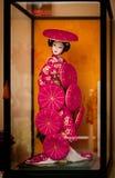 Poupée japonaise Photo libre de droits