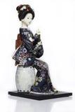 Poupée japonaise de kimono Photographie stock libre de droits