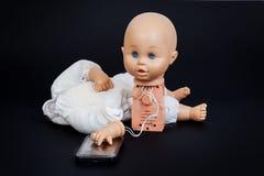 poupée parlante défectueuse Photo stock