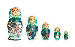 Poupée russe Photo stock