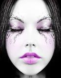 Poupée somnolente Image stock