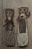 Poupées andines antiques Image stock