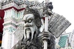 Poupées chinoises de pierre de sculpture Photographie stock libre de droits