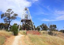 Poupées d'extraction de l'or dans le pays Victoria, Australie Photo libre de droits
