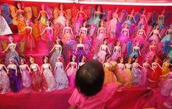 Poupées de Barbie Photo stock