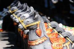 Poupées de cheval pour des offres à la chose sainte Photographie stock libre de droits