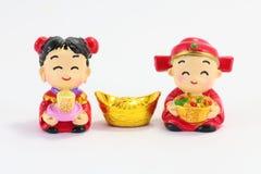Poupées de Chiese Photos stock