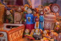 Poupées de chiffon folkloriques slaves Photos libres de droits