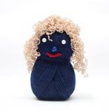 Poupées de laines Image libre de droits