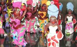 Poupées de marché en plein air du Cuba Photos libres de droits