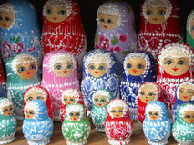 Poupées de Matrioshka Images libres de droits