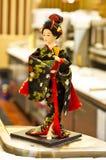 Poupées japonaises Image libre de droits