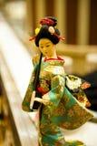 Poupées japonaises Photographie stock