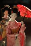 Poupées japonaises Photo libre de droits