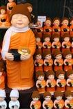 Poupées mignonnes de moine photo libre de droits