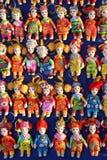 Poupées miniatures de souvenir du Laos Photo stock