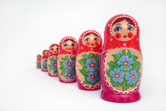poupées russes Photos libres de droits
