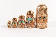 Poupées russes Photographie stock libre de droits