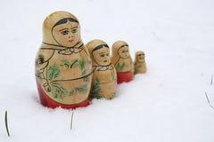 Poupées russes Photos stock
