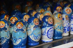 Poupées russes de matryoshka Photos libres de droits