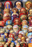 Poupées russes de Matryoshka Photographie stock