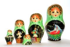 Poupées russes de matryoshka Photographie stock libre de droits
