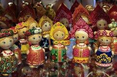 Poupées tchèques Photos stock