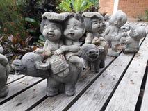 Poupées thaïlandaises Images stock