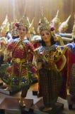 Poupées thaïlandaises de Ramayana Photographie stock libre de droits