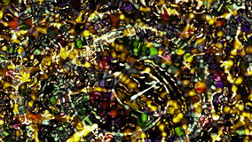 Poupança de tela de computador animado abstrata da cor vídeos de arquivo
