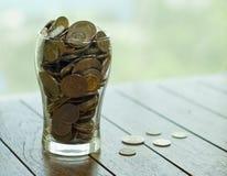 Poupança e caridade Foto de Stock Royalty Free
