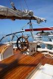 Poupe d'un bateau grand Photos stock