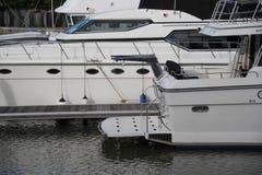 Poupe d'un yacht Images stock