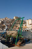 Poupe de bateau de pêche Image stock