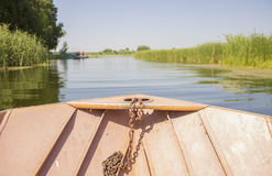 Poupe du bateau Photographie stock